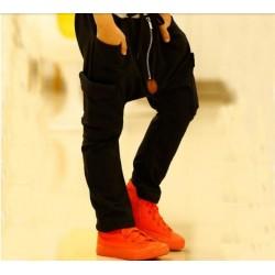 Pantalon cu turul lasat baieti