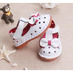 Sandale fetite albe