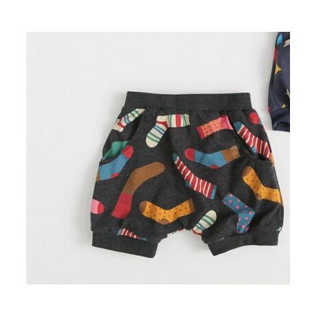 Pantaloni scurti cu imprimeu