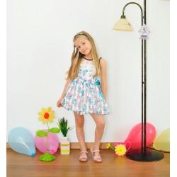 Rochita  cu imprimeu floral