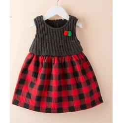 Rochie tricotata fete