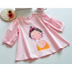 Bluza cu imprimeu fetita